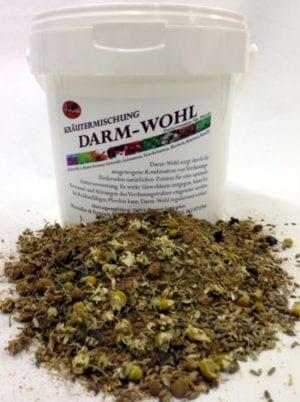 Darm-Wohl mit Leinsamen, alternativ Floramin ohne.